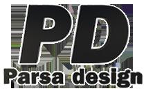 پارسا دیزاین لوگو